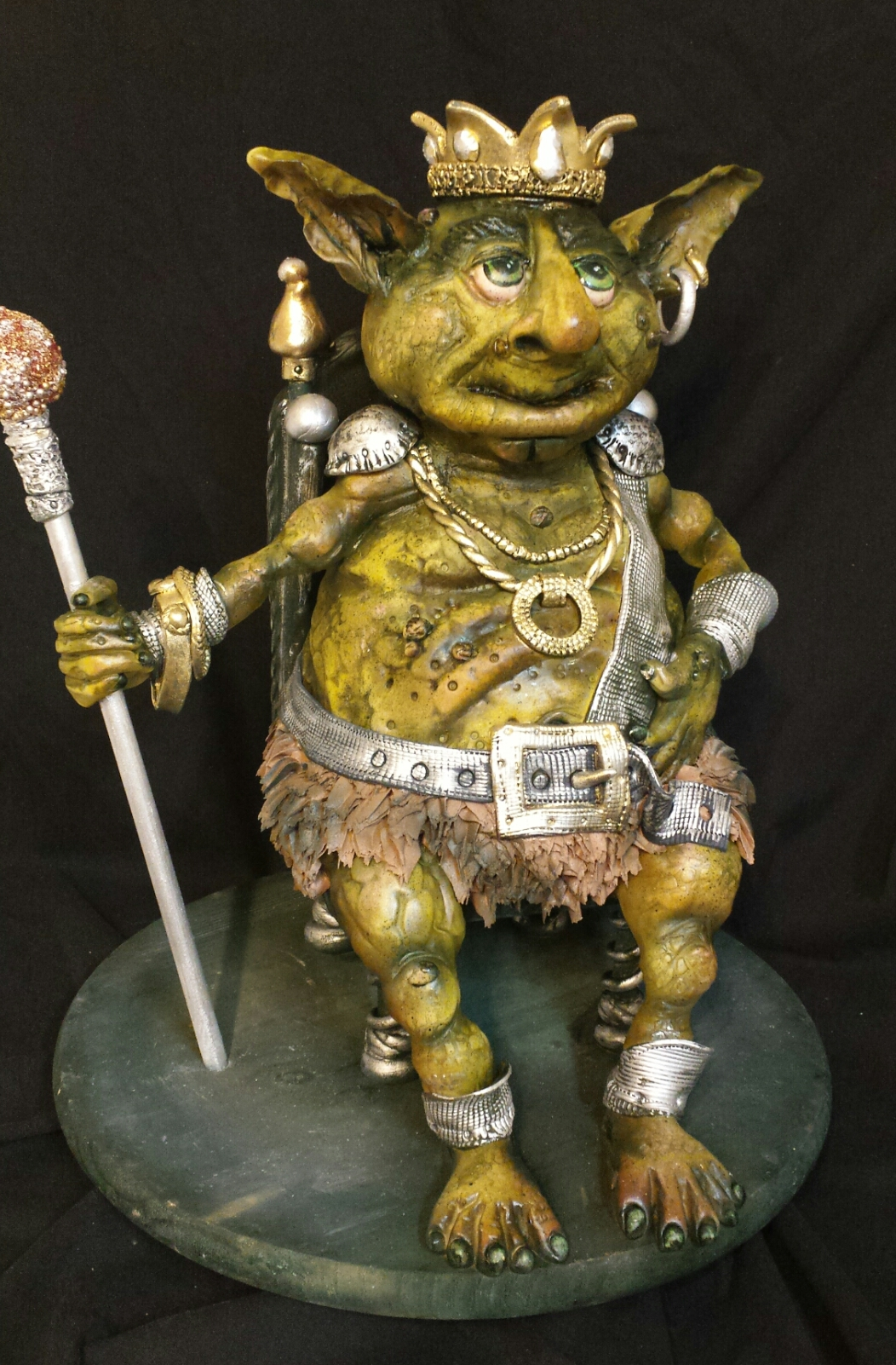 """King of the Goblins Cake"" - Beth Townsend - CakePro Shop - Sugar Spooks"